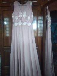Vestido de festa usado uma vez