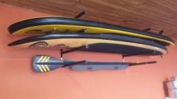 Rack de Parede para 3 Pranchas de Surf ou Standup