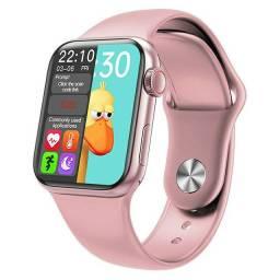 Promoção efetua e recebe ligação Smartwatch série Rose Gold