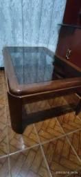 Mesa de centro em mogno