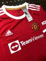 Título do anúncio: Camiseta Manchester United 21/22