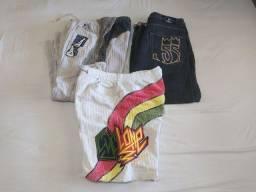 Calça cyclone, bermuda cyclone, calça jeans XXL 55
