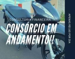 Consórcio de motos em andamento!