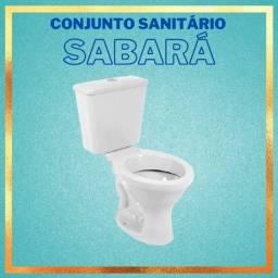 Título do anúncio: Conjunto Vaso Sanitário + caixa acoplada Sabará - Icasa (entregamos sem custo)