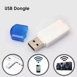 Adaptador Bluetooth Usb Stream Som Automotivo Carro Dvd Home