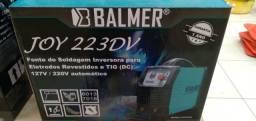 Máquina de Solda Inversora e Tig 200A Joy 223 DV Bivolt Balmer