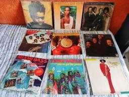 Discos de vinil Black/Soul/Pop/Reggae/R&B - Preços na descrição