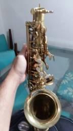 Sax alto super novo usado uma vez profissional