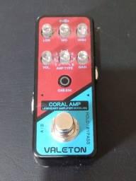 Título do anúncio: Pedal pre Coral Amp Valeton