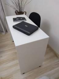 Título do anúncio: Escrivaninha 100x45x75 cm Branca Top Últimas Unidades Queima de Estoque