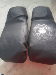 Luva Box e muay thai
