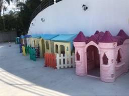 Playground Casinha infantil grande xalingo mundo azul freso bandeirantes little tikes