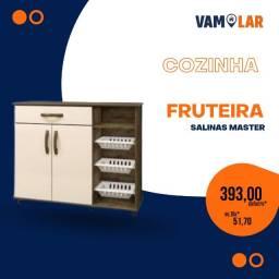 Título do anúncio: Fruteira Salinas - 3 Cestas Plásticas - Frete Grátis
