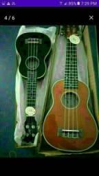 Top produto novo na caixa ukulele acústico novo na caixa