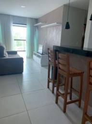 Aluguel Apartamento 2/4 um suite mobiliado com varanda gourmet