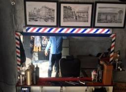 Espelho para barbearia