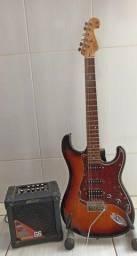Guitarra Tagima Stratocaster Hss T-736 Special, com caixa amplificada