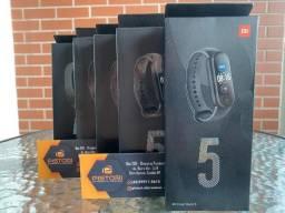 Relógio Smartwatch Xiaomi Mi Band 5 - Lançamento - Versão Global