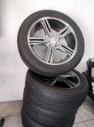 Rodas e pneus aro 20