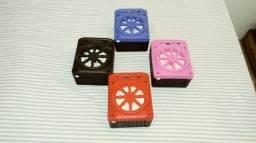 Caixa De Som Grasep Al-302 Portátil Com Bluetooth
