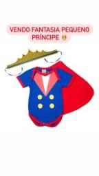 Fantasia bebê pequeno príncipe