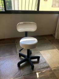 Cadeira de estética e mojo