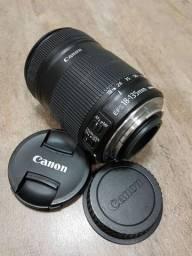 Lente Canon EFS 18-135mm