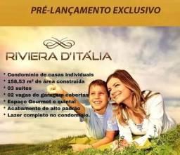 Riviera D Itália Sobrados. Lançamento Construtora CMF Bairro Santa Cruz.