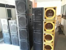 Gabinetes de caixas acústicas