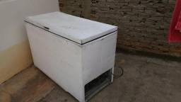 Freezer horizontal branco usado