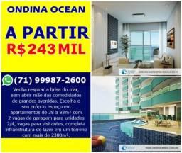 Ondina Ocean, 1 Suíte em 40m² - Por 243.000