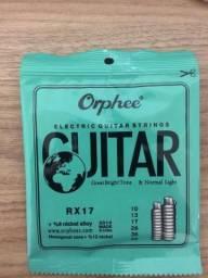 Cordas de guitarra 0.10