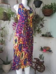 Kit 10 Vestidos de viscose ( entrega grátis ) 6 a 10 estampas diferentes