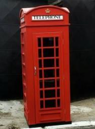 Cabine Telefónica Londres - Réplica - Tamanho Original