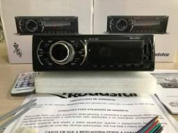Rádio automotivo Roadstar Bluetooth novo lacrado na caixa 99$ LIQUIDAÇÃO