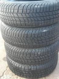 "Kit de 4 pneus ""175/65r14"" usado!"