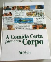 Livro sobre alimentação saudável