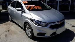 GM-Chevrolet Prisma LT 1.4 2019 Prata IPVA 2020 GRÁTIS - 2019