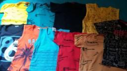 Camisas infantis masculina