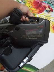 Câmera retrô Panasonic vhs funcionando perfeitamente todos os acessórios