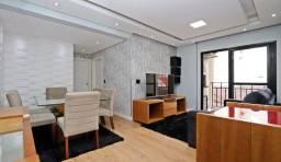 AP0584 - Apartamento semi mobiliado à venda, 2 quartos, 1 vaga, Novo Mundo, Curitiba/PR