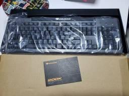 Teclado Gamer 200K Cougar + Brindes