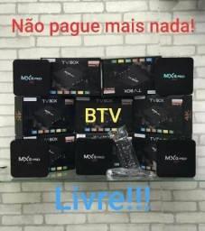 TV BOX - COMPLETA PRONTA PRA USO!