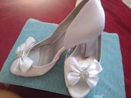 Sapato noiva e debutante tamanho 33/34
