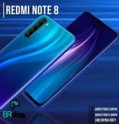 Promoção Celular Xiaomi Redmi Note 8 128Gb lacrado a pronta entrega (Ac. Cartão)