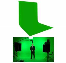 Pano / Tecido Verde Chroma Key Verde Limão P/ Fundo Infinito - Filmagem / Live / Vídeo