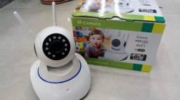 Câmera Ip 2 antenas Wifi Sem Fio Vigilância Pelo Celular