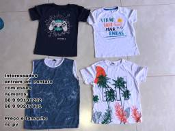 Blusas e Conjuntos Novos