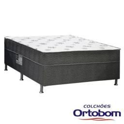 Cama Box Casal Molas Bonnel Spring Dream Ortobom