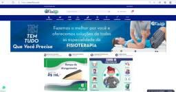 Loja Virtual para Fisioterapeutas Funcionamento + Estoque